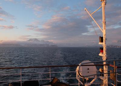 Grönland, Kreuzfahrt mit der Sea Spirit, Abendstimmung